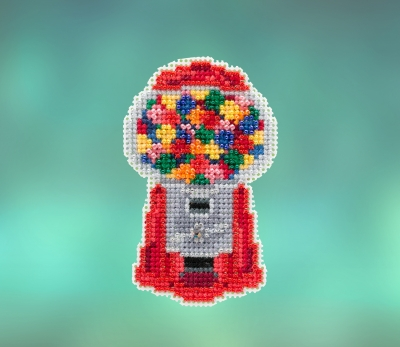 click here to view larger image of Gumball Machine (2020) (counted cross stitch kit)