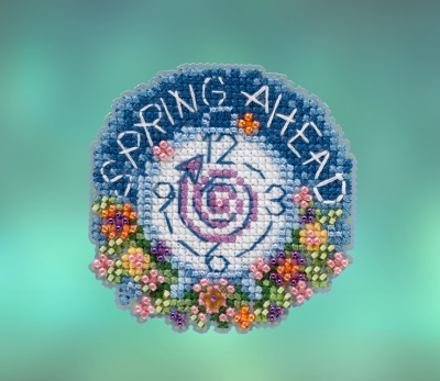 click here to view larger image of Spring Ahead (2020) (counted cross stitch kit)