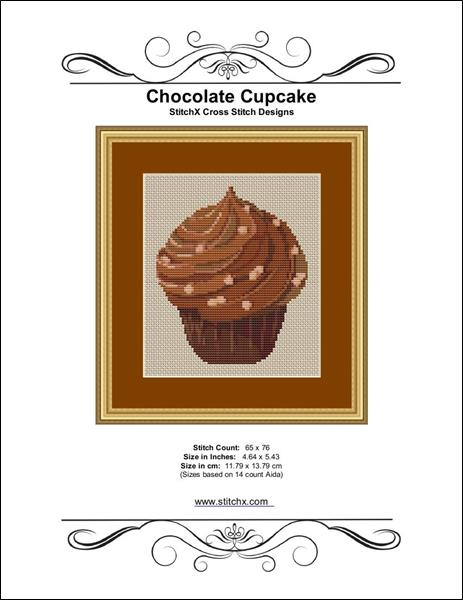 click here to view larger image of Chocolate Cupcake (chart)