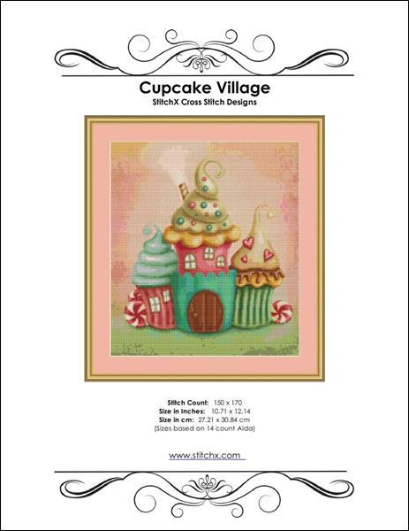 click here to view larger image of Cupcake Village (chart)