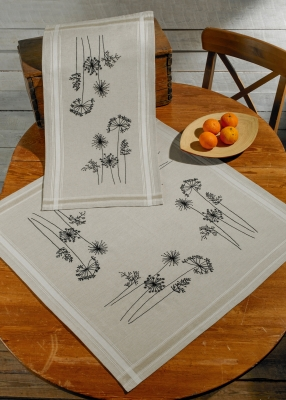 click here to view larger image of Nature Table Runner (top) (counted cross stitch kit)