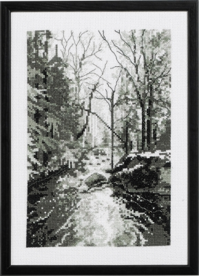 click here to view larger image of Forrest (counted cross stitch kit)