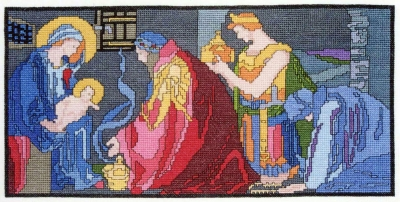 click here to view larger image of Armstrong Window (counted cross stitch kit)