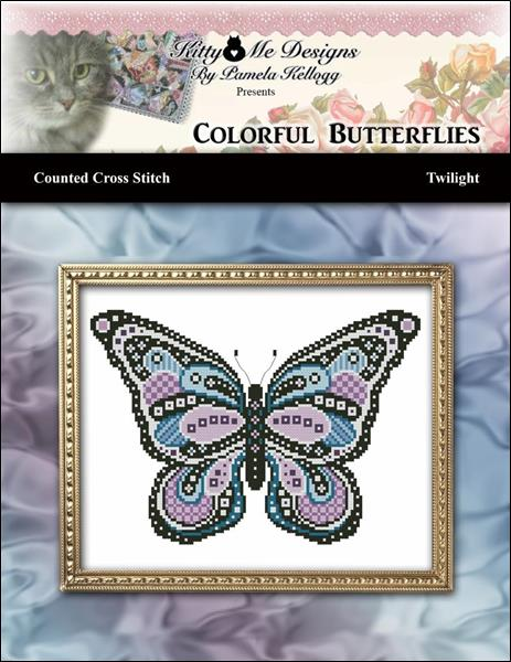 click here to view larger image of Colorful Butterflies - Twilight (chart)