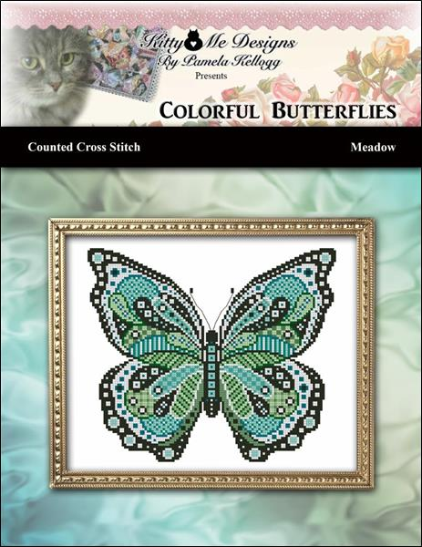 click here to view larger image of Colorful Butterflies - Meadow (chart)