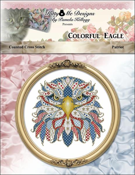 click here to view larger image of Colorful Eagle - Patriot (chart)