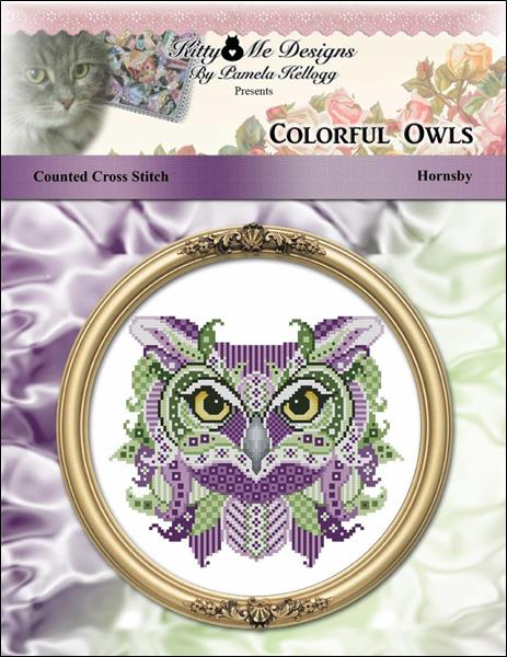 click here to view larger image of Colorful Owls Hornsby (chart)