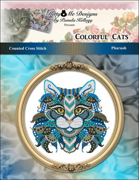 click here to view larger image of Colorful Cats Pharaoh (chart)