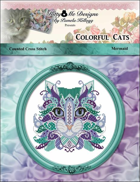 click here to view larger image of Colorful Cats Mermaid (chart)