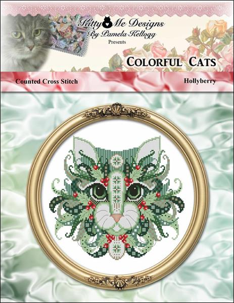 click here to view larger image of Colorful Cats Hollyberry (chart)