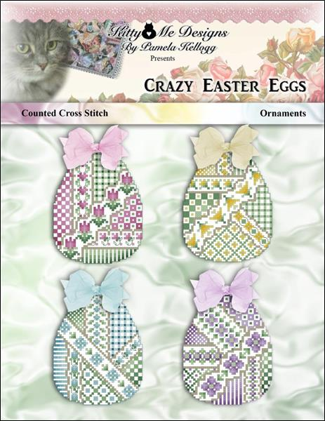 click here to view larger image of Crazy Easter Eggs Ornaments (chart)