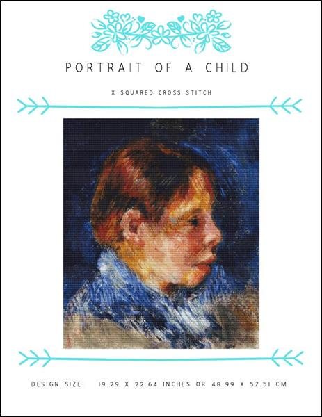 click here to view larger image of Portrait of a Child (chart)