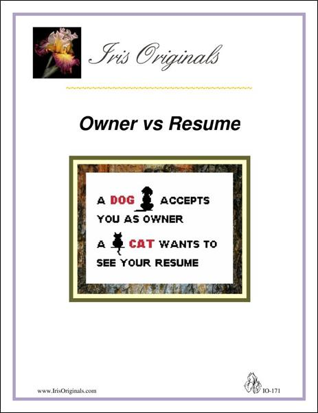 click here to view larger image of Owner vs Resume (chart)