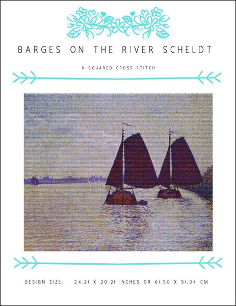 click here to view larger image of Barges on the River Scheldt (chart)
