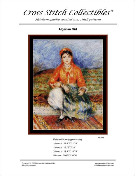 click here to view larger image of Algerian Girl (chart)