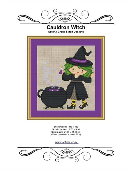 click here to view larger image of Cauldron Witch (chart)