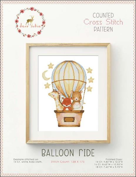 click here to view larger image of Balloon Ride (chart)
