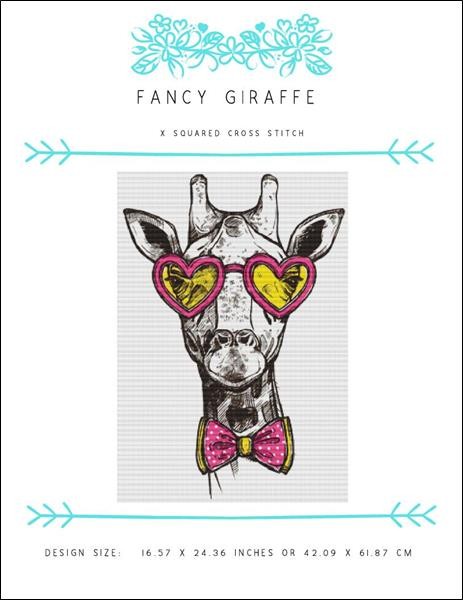 click here to view larger image of Fancy Giraffe (chart)