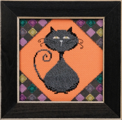 click here to view larger image of Coal - Alley Cats (counted cross stitch kit)