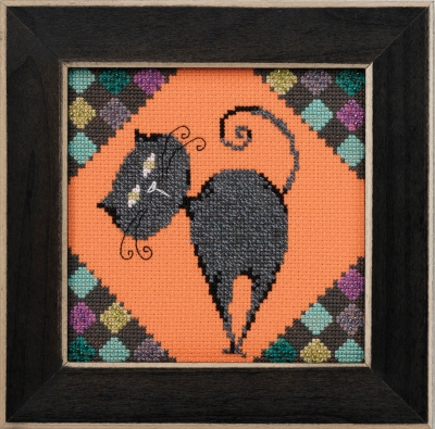 click here to view larger image of Cinder - Alley Cats (counted cross stitch kit)