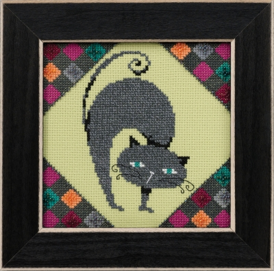 click here to view larger image of Ashes - Alley Cats (counted cross stitch kit)
