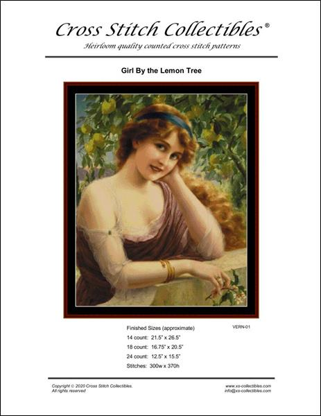 click here to view larger image of Girl by thye Lemon Tree  (chart)