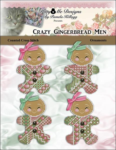 click here to view larger image of Crazy Gingerbread Men Ornaments (chart)