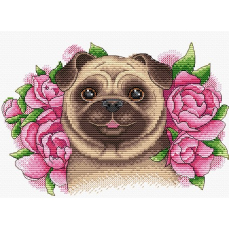 click here to view larger image of Charmed Friend (counted cross stitch kit)