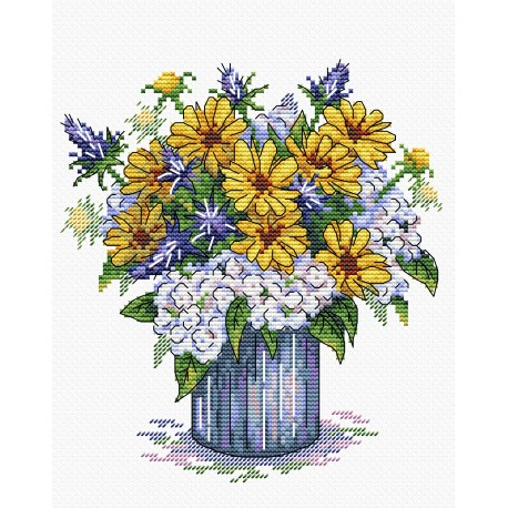 click here to view larger image of Aroma Melody (counted cross stitch kit)
