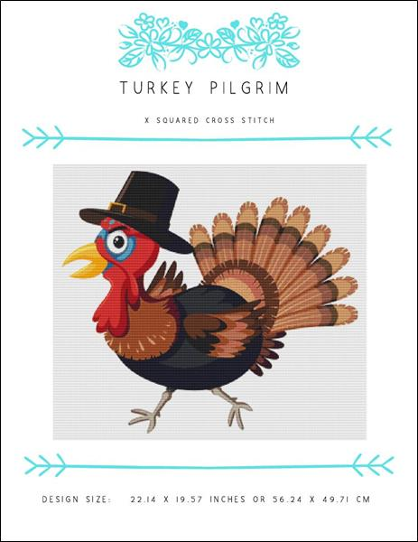 click here to view larger image of Turkey Pilgrim (chart)