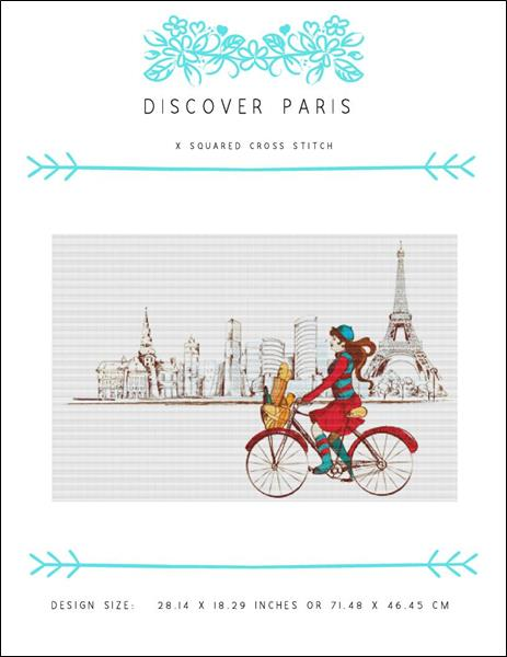 click here to view larger image of Discover Paris (chart)