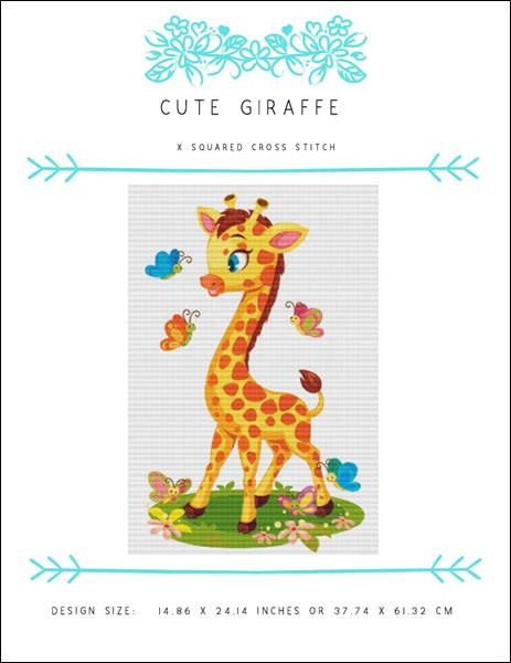 click here to view larger image of Cute Giraffe (chart)