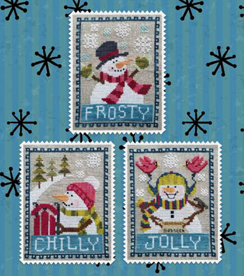 click here to view larger image of Snowman Trio (magazines)
