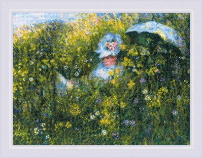 click here to view larger image of In the Meadow (counted cross stitch kit)