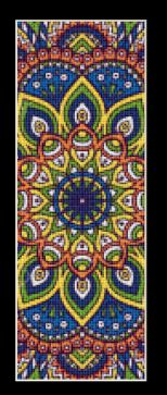 click here to view larger image of Mandala 1 Bookmark (chart)