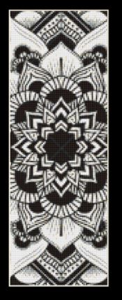 click here to view larger image of Mandala 3 Bookmark (chart)