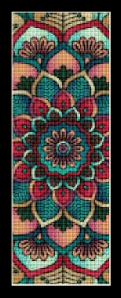 click here to view larger image of Mandala 6 Bookmark (chart)