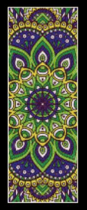 click here to view larger image of Mandala 2 Bookmark (chart)
