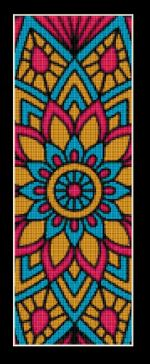 click here to view larger image of Mandala 12 Bookmark (chart)