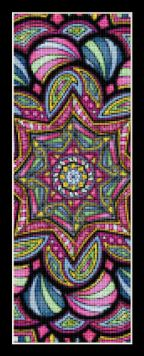 click here to view larger image of Mandala 15 Bookmark (chart)