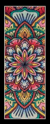 click here to view larger image of Mandala 16 Bookmark (chart)