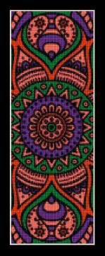 click here to view larger image of Mandala 18 Bookmark (chart)