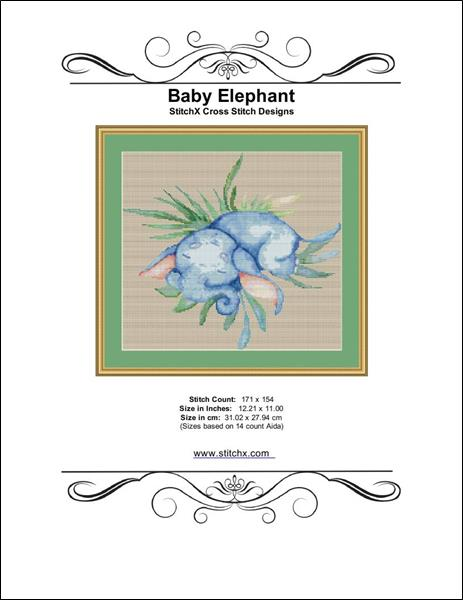 click here to view larger image of Baby Elephant  (chart)