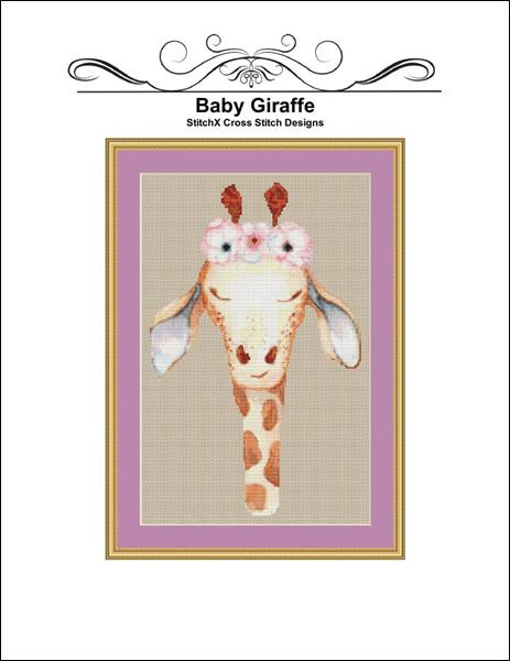 click here to view larger image of Baby Giraffe (chart)