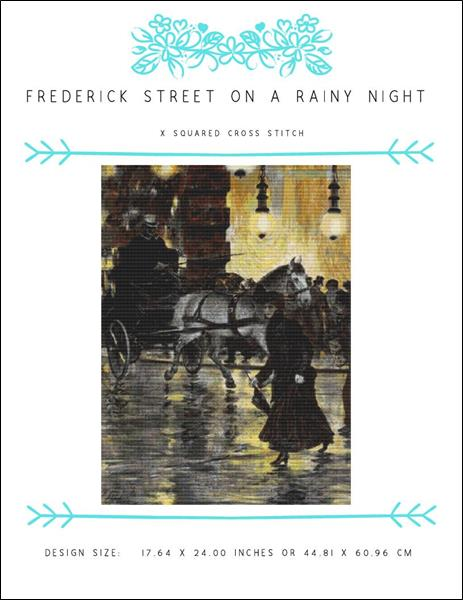 click here to view larger image of Frederick Street on a Rainy Night (chart)