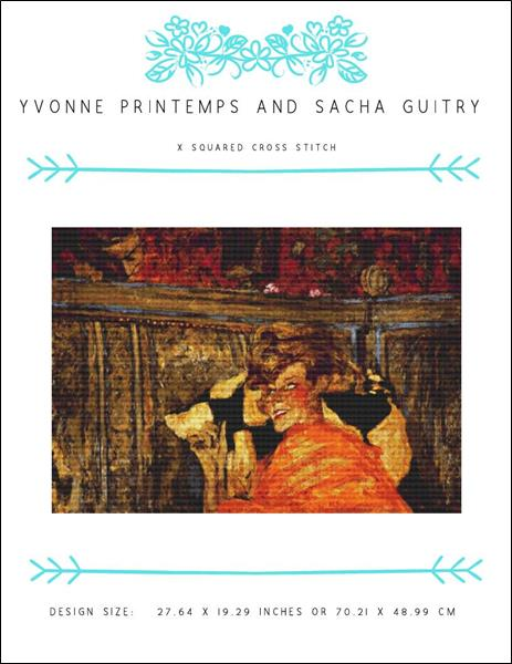 click here to view larger image of Yvonne Printemps and Sacha Guitry (chart)