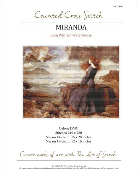 click here to view larger image of Miranda (chart)