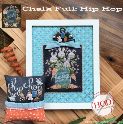 click here to view larger image of Chalk Full - Hip Hop (2 designs) (chart)