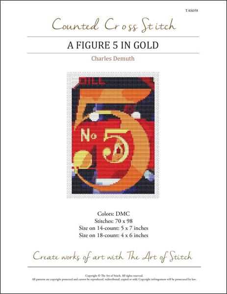 click here to view larger image of Figure 5 in Gold, A (Mini Chart) (chart)