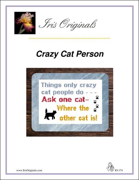 click here to view larger image of Crazy Cat Person (chart)